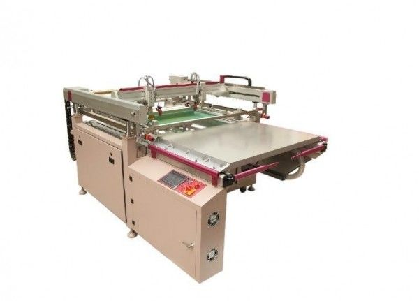 Decoration Window Plate Screen Printing Machine
